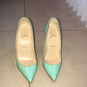 Christian louboutin red sole pumps